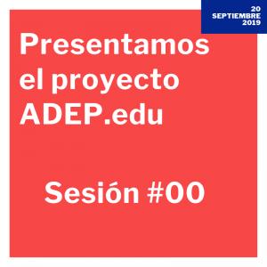 sesión 0 adep